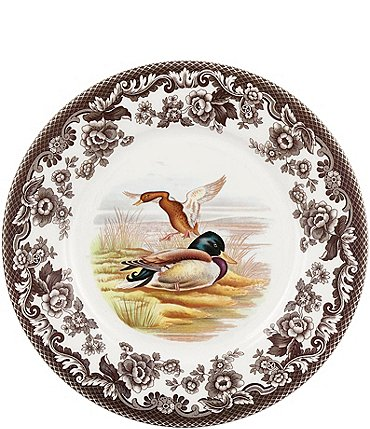 Image of Spode Woodland Mallard Luncheon Plate