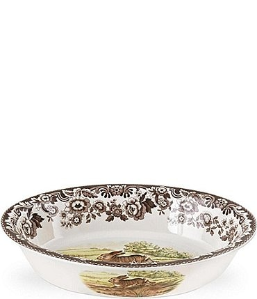 Image of Spode Festive Fall Collection Woodland Oval Baking Dish