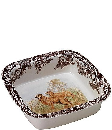 Image of Spode Festive Fall Collection Woodland Square Baking Dish