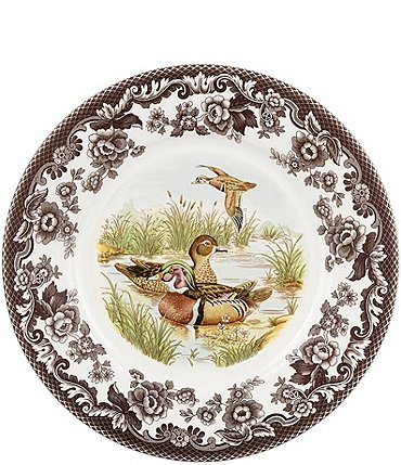 Image of Spode Woodland Wood Duck Luncheon Plate