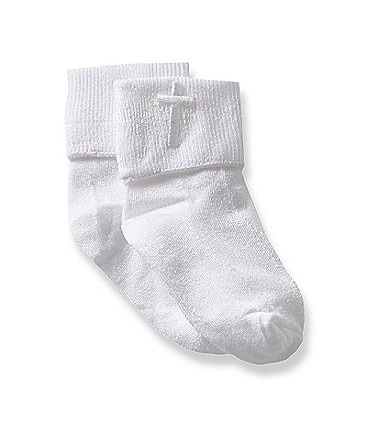 Image of Starting Out 2-Pack Baby Christening Socks