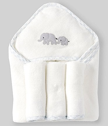Image of Starting Out Baby Boys Elephant Bath Set