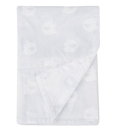 Image of Starting Out Baby Boys Elephant Print Blanket