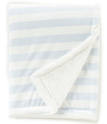 Image of Starting Out Baby Boys Stripe Blanket
