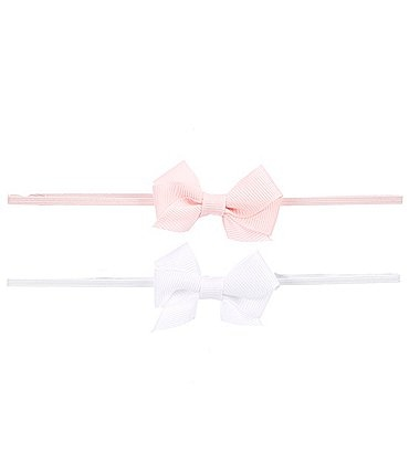 Image of Starting Out Baby Girls 2-Pack Tiny Bow Headwrap