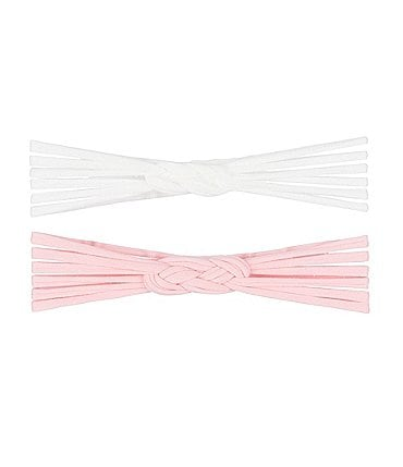 Image of Starting Out Baby Girls 2-Pack Twist Knot Headwraps