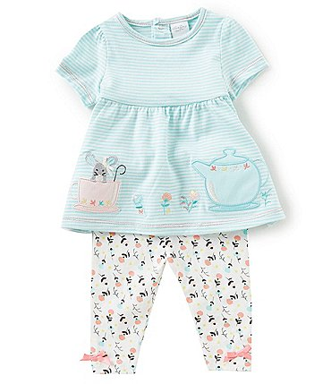 Image of Starting Out Baby Girls 3-24 Months Floral Top & Leggings Set