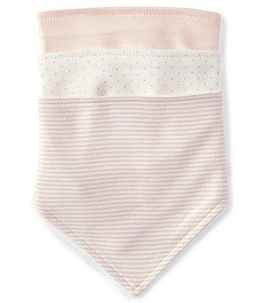 Image of Starting Out Baby Girls 3-Pack Bibs