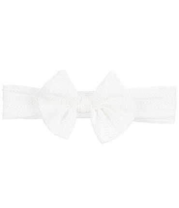Image of Starting Out Baby Girls Bow Headwrap