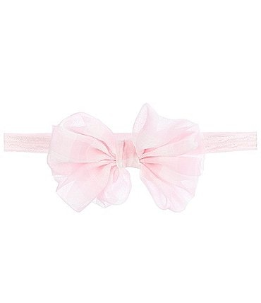Image of Starting Out Baby Girls Gingham Bow