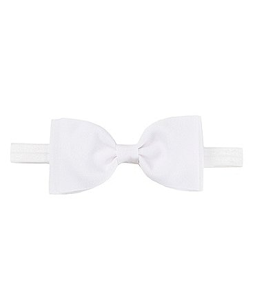 Image of Starting Out Baby Girls Grosgrain Double Bow Headband