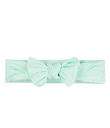 Image of Starting Out Baby Girls Knot Bow Headwrap