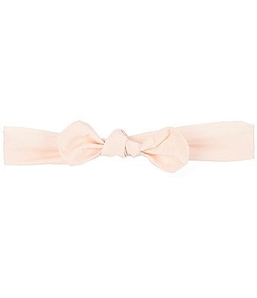 Image of Starting Out Baby Girls Knotted Woven Headband