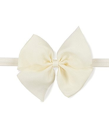 Image of Starting Out Baby Girls Large Organza Bow Headband