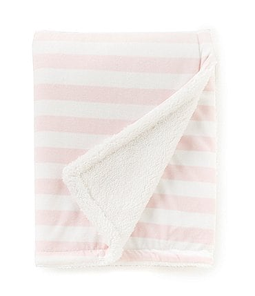 Image of Starting Out Baby Girls Stripe Blanket