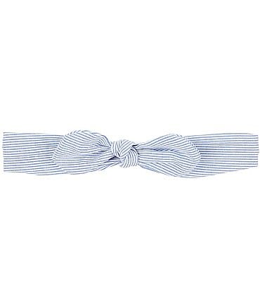 Image of Starting Out Baby Girls Stripe Knotted Headband