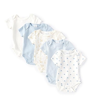 Image of Starting Out Baby Newborn-9 Months Elephant 5-Pack Bodysuits