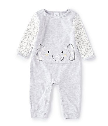 Image of Starting Out Baby Preemie-6 Months Elephant Coverall