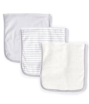 Image of Starting Out Baby Stars 3-Pack Burp Cloths