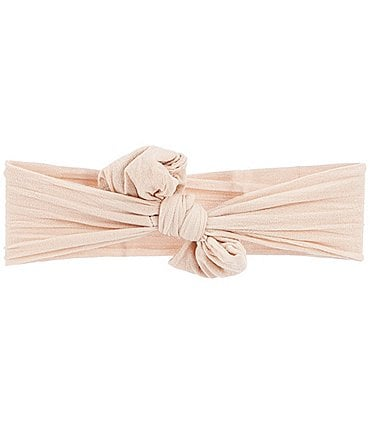 Image of Starting Out Baby Knot Bow Nylon Headwrap