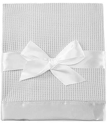 Image of Starting Out Baby Satin-Trim Blanket