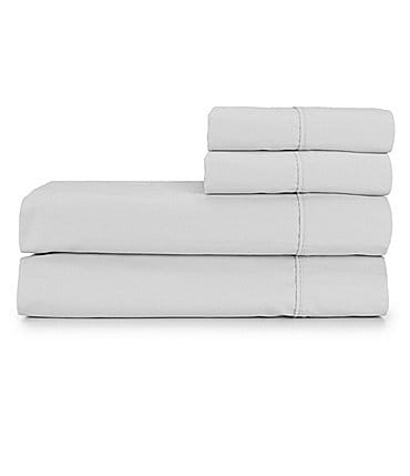 Image of Studio D 300-Thread-Count Brushed Percale Sheet Set