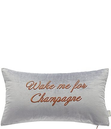 Image of Ted Baker London Wake Me for Champagne Breakfast Pillow