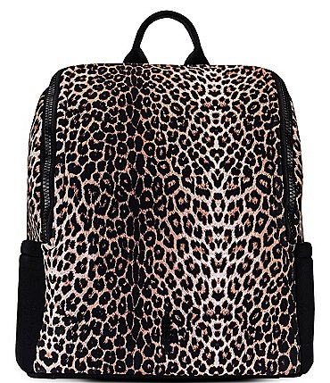 Image of Thacker Maddy Snow Leopard Printed Backpack