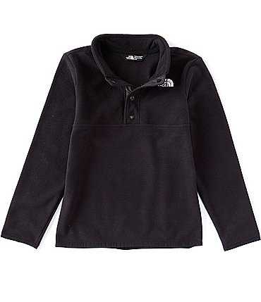 Image of The North Face Little Boys 2T-6T Glacier Fleece Quarter-Snap Pullover Jacket