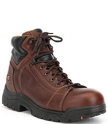 "Image of Timberland PRO® Men's TiTAN® 6"" Lace Alloy Toe Work Boots"