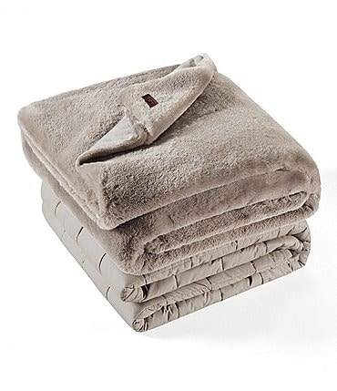 Image of UGG 12-lb. Weighted Plush Blanket with Cover