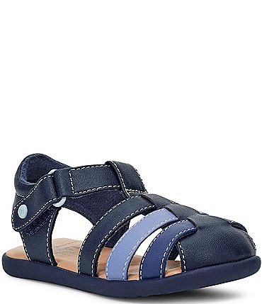 Image of UGG® Boys' Kolding T Fisherman Colorblock Sandals (Infant)
