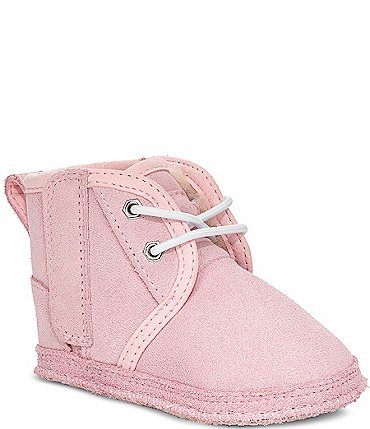 Image of UGG Girls' Baby Neumel Crib Shoe