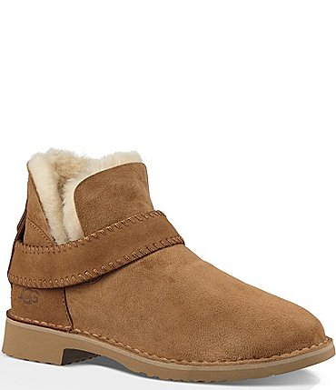 Image of UGG® Mckay Whipstitch Detail Art Deco Rivet Booties