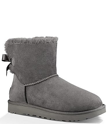 Image of UGG® Mini Bailey Bow Il Twinface Upper Bow Back Detail Booties