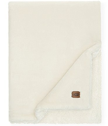 Image of UGG Wade Plush Sherpa Throw