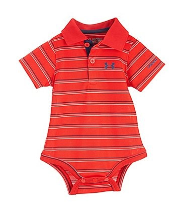 Image of Under Armour Baby Boys Newborn-12 Months Polo Bodysuit