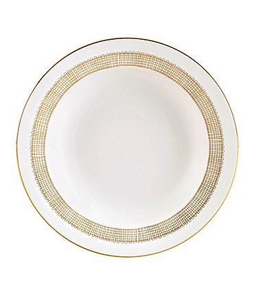 Image of Vera Wang by Wedgwood Gilded Weave Rim Soup Bowl