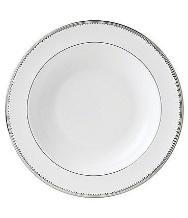 Image of Vera Wang by Wedgwood Grosgrain China Pasta Plate