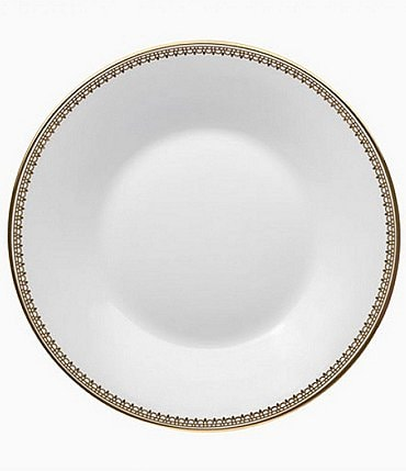 Image of Vera Wang by Wedgwood Lace Gold Bone China Saucer