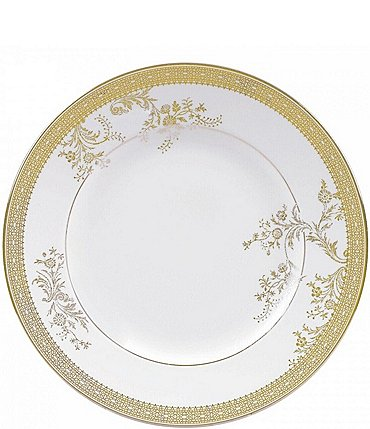 Image of Vera Wang by Wedgwood Vera Lace Floral Salad Plate