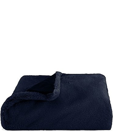 Image of Vera Wang Lapin Faux Fur Throw