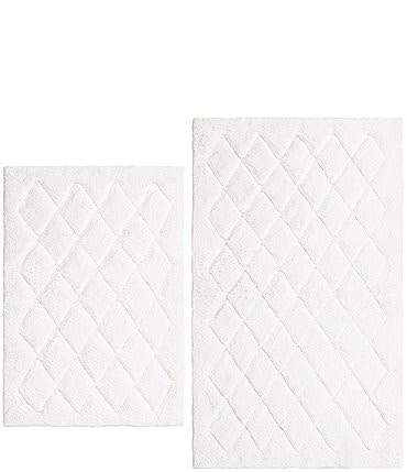 Image of Vera Wang Marquis Diamond Bath Rug 2-Piece Set