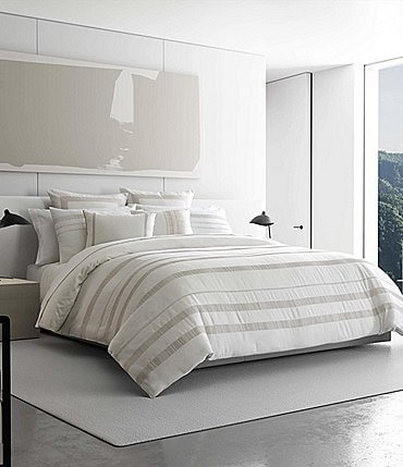 Image of Vera Wang Pucker Grid Duvet Mini Set