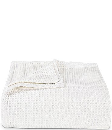 Image of Vera Wang Waffle Weave Bed Blanket