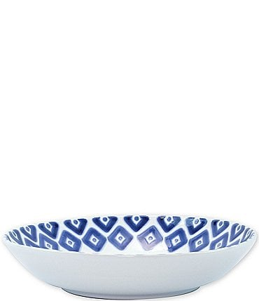 Image of VIETRI Santorini Diamond Medium Serving Bowl