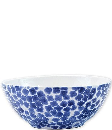 Image of VIETRI Santorini Flower Small Serving Bowl