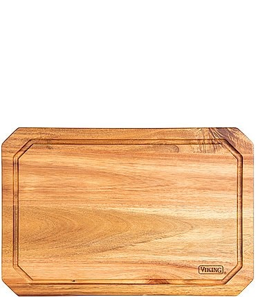 Image of Viking Acacia Wood Carving Board with Juice Groove