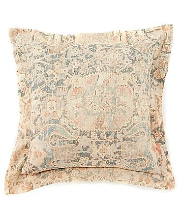 Image of Villa by Noble Excellence Diedre Linen & Cotton Square Pillow