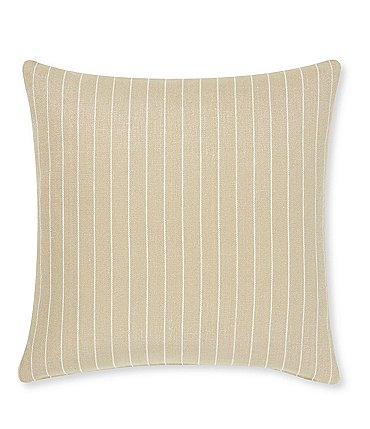 Image of Villa by Noble Excellence Kalahari Stripe Linen Square Pillow